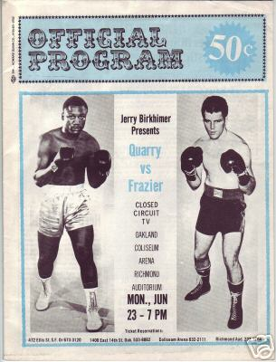 Frazier - Quarry I: 41 Years Since This Heavyweight ...